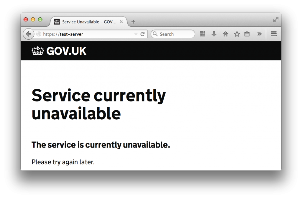 custom-service-unavailable-error