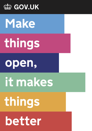 Make things open it makes things better