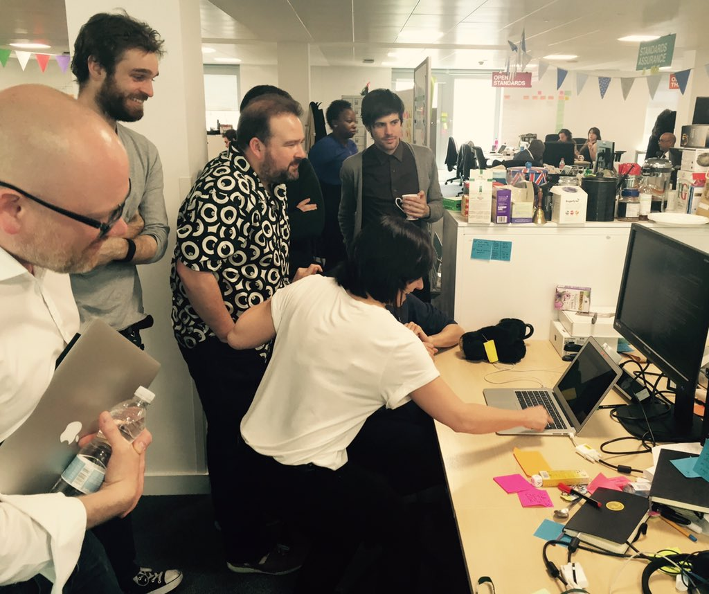 Digital Marketplace team working