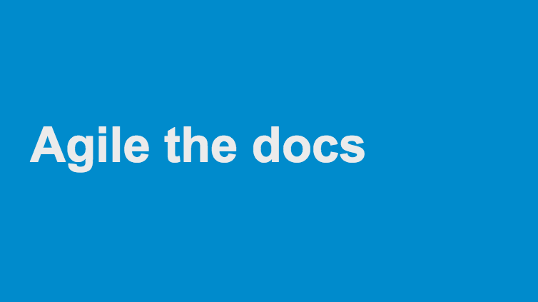 Agile the Docs logo