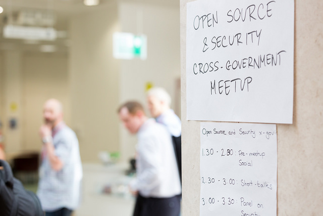 Open Source security meetup: 7 things we learned from the cross-government event