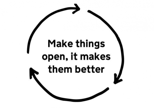 Make things open it makes them better